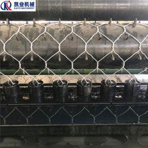 Serviço Pesado automático bloco Duplo Gabião Hexagonal Máquina de malha de arame