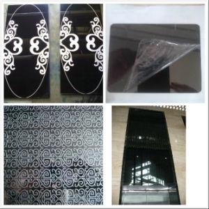 StockのチタニウムBlack 304 Mirror Finish Stainless Steel Sheet