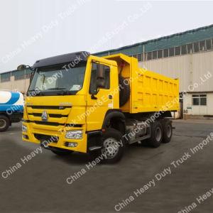 Gebruikt 6*4 25 Ton de Vrachtwagen van de Stortplaats/van de Kipper voor het Werk van de Bouw