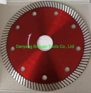 """Diamond Ultrafino Turbo discos de serra de corte/Diamante Blade/Lâmina Cerâmica/lâmina circular/Lâmina 4"""""""