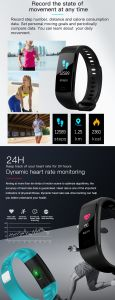 심박수 모니터, 혈압 모니터와 가진 지능적인 팔찌 시계
