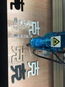 Rd1390m de metal y metaloide Cortador láser /Bambú Cuero// acero inoxidable/madera MDF// vidrio