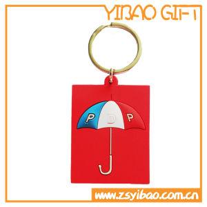 관례 PVC 열쇠 고리, 승진 선물 (YB-PK-42)를 위한 열쇠 고리