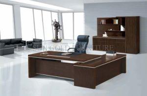 Bureau de bureau en bois de mélamine de qualité supérieure table