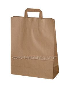 Kraft su ordinazione Paper Gift Shopping Bag per Garment Packing