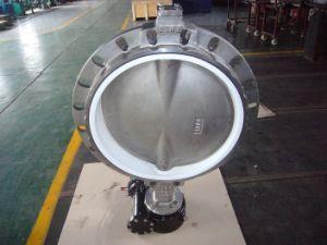 Aço inoxidável Válvula Borboleta Tipo Wafer (alavanca operador)