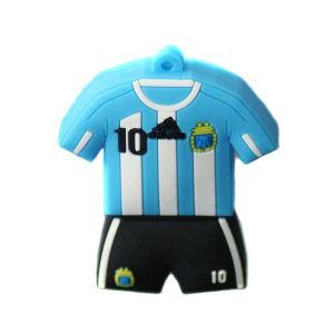World Cup Football Tshirt флэш-накопитель USB (например, 124)