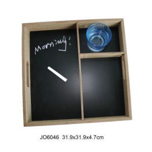 Nouveau fonctionnel de la plaque en bois avec Chalkboard