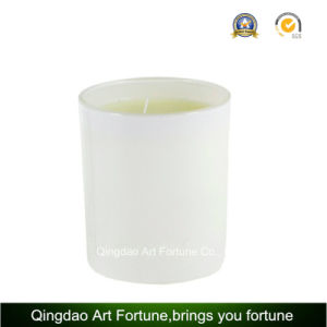 Jarra de cristal de la tapa de metal para la decoración de velas diario