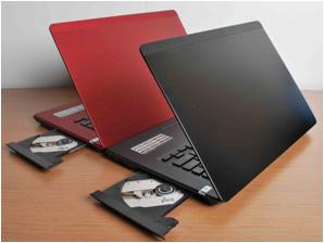 """Esonic 14"""" Notebook PC portable avec lecteur de DVD-R DVD-room"""