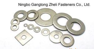 Rondelles plates rondes DIN125 d'acier inoxydable pour l'industrie