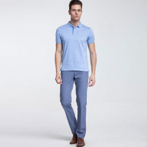 0bfc8d734130f Commerce de gros Mens 100 chemises polo en coton avec logo personnalisé  broderie ou de l impression