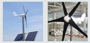 600W de horizontale Turbogenerator van de Wind met AC van het Controlemechanisme van de Last Output