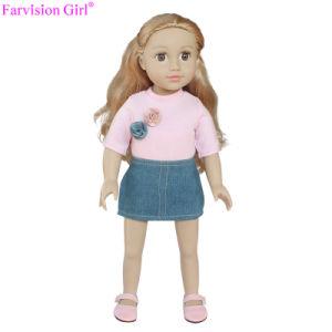 Le bambole comerciano la bambola all'ingrosso nera della ragazza di modo