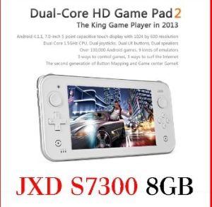 С возможностью горячей замены 7 дюймовый игровой приставки 8ГБ Jxd S7300 Android 4.1 емкостные Tablet PC Game Player