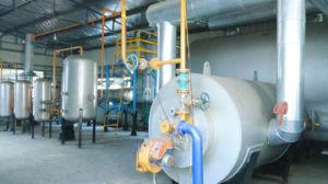 8-60t/Dの重油-ディーゼル油に機械不用なタイヤをリサイクルするCe/ISOのタイヤへの改宗者の不用なタイヤ