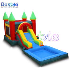 Hot vender Castillo Hinchables Combo con tobogán para niños