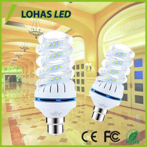 Het volledige Spiraalvormige LEIDENE van de Lamp van het Graan van de Vorm 16W B22 Licht van de Bol