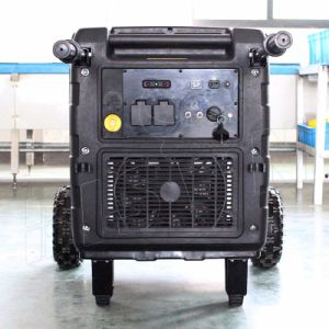 Bison (China) BS6300X 6.3kw kleiner MOQ elektrischer Anfangskupferner Draht-Inverter-Generator 6300W der 1 Jahr-Garantie-
