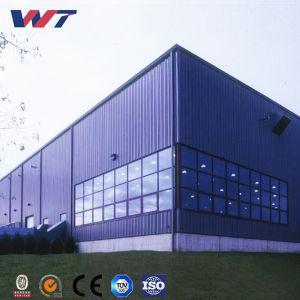Instalación sencilla estructura de acero viga H Taller de Construcción de metal