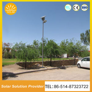 モノラル結晶30W 40W 50W太陽LEDは太陽街灯をつける