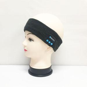 適性の練習のための無線ヘッドセットのイヤホーンステレオのHandfreeが付いている伸縮性がある編まれたヘッドバンド
