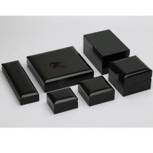 أسود فولاذ دهانة خشبيّة [جولري بوإكس] مجموعة