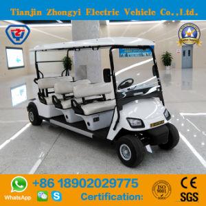 Elevadores eléctricos de 6 lugares com certificado CE carros de golfe