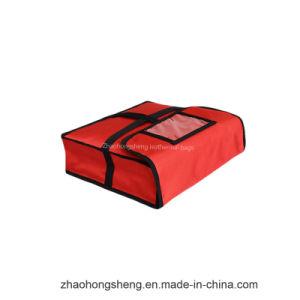 11''isolation en nylon imperméable Déjeuner pizza thermique du refroidisseur de livraison de nourriture le sac en papier aluminium
