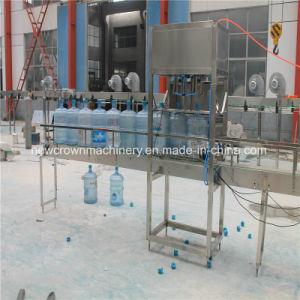 300bph Automatique Machine de remplissage de l'eau de 5 gallons