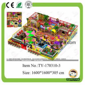 Prezzi dell'interno di plastica della strumentazione del campo da giuoco, campo da giuoco dell'interno dei giocattoli dei capretti