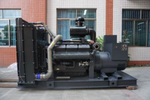中国Shangchaiのディーゼル機関G128zldを搭載する200kw 250kVAの電気ディーゼル生成セット