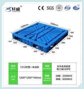 Le PEHD Double-Side palette plastique à usage intensif, bon marché Coût palette plastique