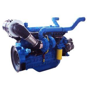 284kw 4ストロークエンジンのディーゼル燃料50Hz