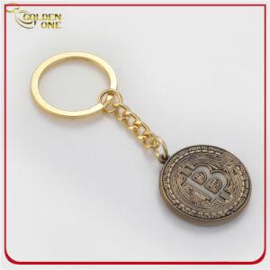 Custom Or Antique émail doux souvenirs de trousseau de métal pour