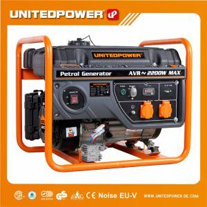 De las Naciones de 2kw de potencia de 2,2 Kw/portátil de plástico pequeño generador de gasolina gas gasolina