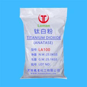 Tipo de Anatase Dióxido de titânio com pigmento 98,5%MIN TiO2 Utilização de revestimentos de cosméticos a tinta de impressão&Blocos
