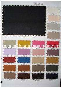 De calçado de couro Material PU (2036)