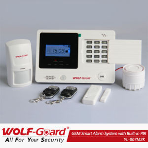 Yl-007m2k Wireless Color Screen GSM SMS Security Alarm System Remote Control Arm/Disarm