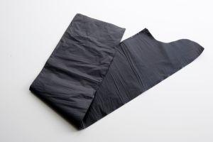環境に優しく完全で黒い卸し売り使い捨て可能な生物分解性の頑丈なポリ袋