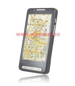 Il GPS TV WiFi Java SIM doppio si raddoppia telefono mobile standby (F90)