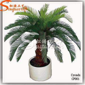 Cycad Artificial Palmeira no pot
