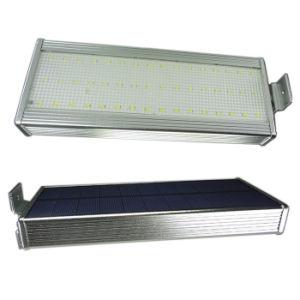 Capteur de mouvement radar à micro-ondes solaire light 48 LED 800LM Lampe étanche extérieur mur de sécurité pour Patio Jardin de triage