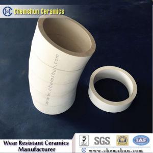 Curvature di tubo resistenti all'uso dei fornitori di ceramica della tubazione per i materiali abrasivi