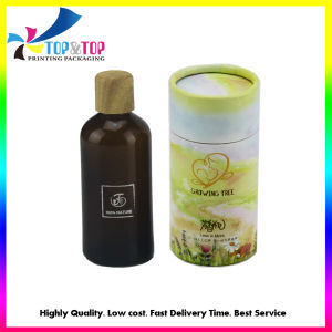 Glossy Lamination Art Paper Cylinder Custom Logo Packaging Boxings