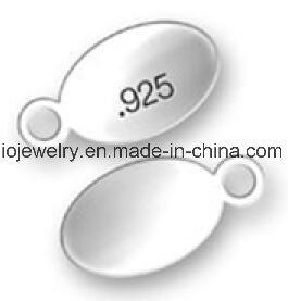 Zilveren Ovale Markering voor de Gravure van het Embleem van de Douane