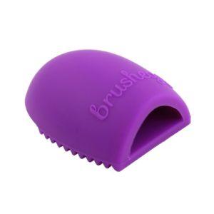 Escova da lavagem da face do silicone do produto comestível do FDA para a limpeza e a composição