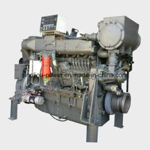 바다 디젤 엔진 6 실린더 295kw 1800rpm