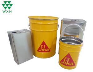 20L el Cubo de pintura de metales estaño química con tapas de la cuchara y el mango