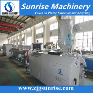 De HDPE de plástico PP PE PPR drenagem de suprimento de água de PVC Conduíte elétrico máquina de produção de extrusão do tubo